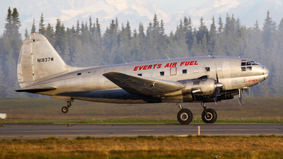 N1837M - Curtiss C-46F Commando - Everts Air Fuel