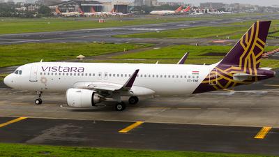 A picture of VTTNF - Airbus A320251N - Vistara - © Aneesh Bapaye