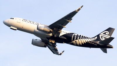 A picture of ZKOXM - Airbus A320232 - Air New Zealand - © Lukasz Swain