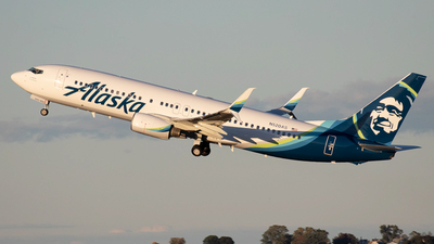 A picture of N520AS - Boeing 737890 - Alaska Airlines - © Ross Sugrue