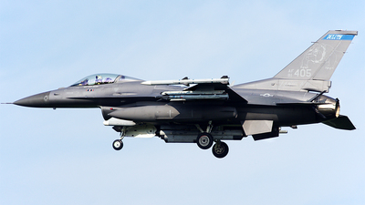 91-0405 - General Dynamics F-16CM Fighting Falcon - United States - US Air Force (USAF)