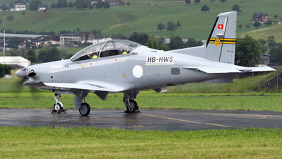 HB-HWS - Pilatus PC-21 - Pilatus Aircraft