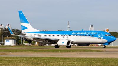 A picture of LVFSK - Boeing 7378BK - Aerolineas Argentinas - © Juan Manuel Cerda
