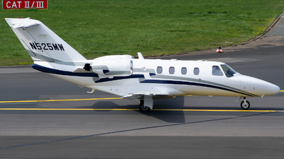 N525MW - Cessna 525 CitationJet 1 - Private