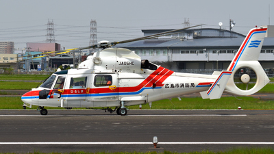 JA05HC - Eurocopter AS 365N3 Dauphin - Japan - Hiroshima City Fire Bureau