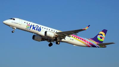 4X-EMF - Embraer 190-200IGW - Arkia Israeli Airlines