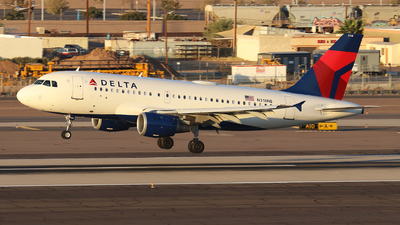 A picture of N318NB - Airbus A319114 - Delta Air Lines - © Sam Thomas