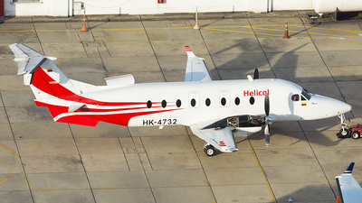 HK-4732 - Beech 1900D - PAS - Petroleum Aviation and Services