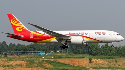 A picture of B2759 - Boeing 7878 Dreamliner - Hainan Airlines - © HM Liu