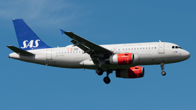 A picture of OYKBT - Airbus A319131 - SAS - © Paolo Zonca