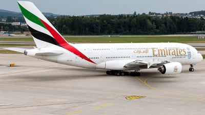 A6-EOK - Airbus A380-861 - Emirates