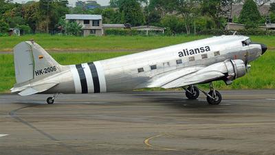 HK-2006 - Douglas DC-3 - Aliansa Colombia