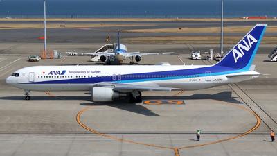 JA608A - Boeing 767-381(ER) - All Nippon Airways (Air Japan)