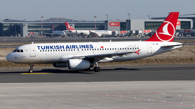 A picture of TCJPL - Airbus A320232 - Turkish Airlines - © Mustafa Sandikci
