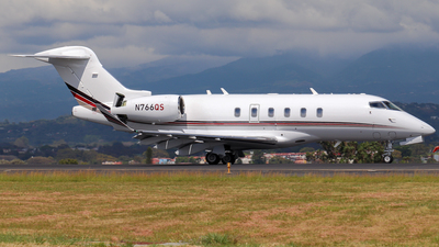N766QS - Bombardier BD-100-1A10 Challenger 350 - NetJets Aviation