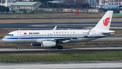 A picture of B8338 - Airbus A320232 - Air China - © Marcus Yu