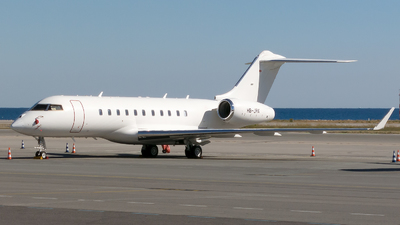 A picture of HBJRX - Bombardier Global 5000 -  - © Eric Verplanken