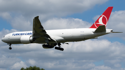 A picture of TCLJS - Boeing 777F - Turkish Airlines - © Stephen Duquemin