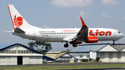PK-LOQ - Boeing 737-8GP - Lion Air