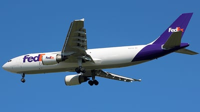 A picture of N667FE - Airbus A300F4605R - FedEx - © Chrisjake