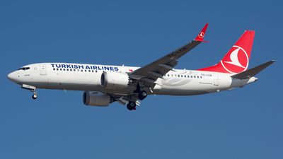 A picture of TCLCB - Boeing 737 MAX 8 - Turkish Airlines - © sas1965