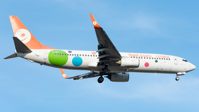 A picture of B1715 - Boeing 7378GP - 9 Air - © xuhaoqing995