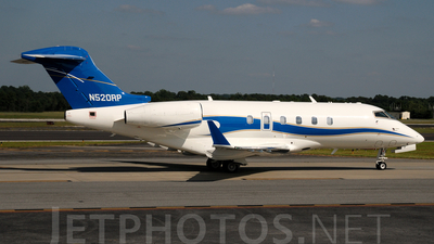 A picture of N520RP - Bombardier Challenger 300 - [20032] - © Agustin Anaya