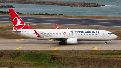 A picture of TCJVZ - Boeing 7378F2 - Turkish Airlines - © Alperen Yeni