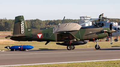 3H-FB - Pilatus PC-7 - Austria - Air Force