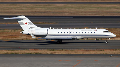 JA006G - Bombardier BD-700-1A10 Global Express - Japan - Civil Aviation Bureau