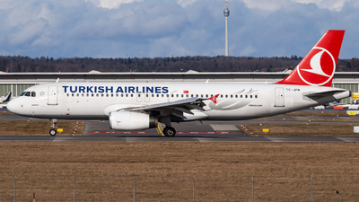 A picture of TCJPM - Airbus A320232 - Turkish Airlines - © Holger Frank