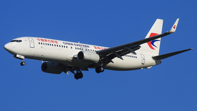 B-1308 - Boeing 737-89P - China Eastern Airlines