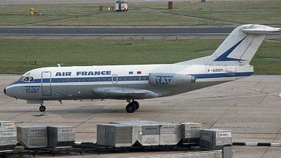 F-GBBR - Fokker F28-1000 Fellowship - Air France (TAT)