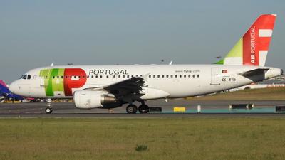 CS-TTD - Airbus A319-111 - TAP Air Portugal