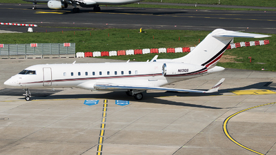 N113QS - Bombardier BD-700-1A11 Global 5000 - NetJets Aviation