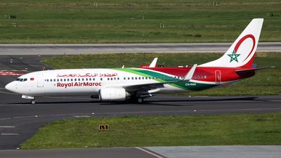 A picture of CNRNK - Boeing 7378B6 - Royal Air Maroc - © Günter Reichwein