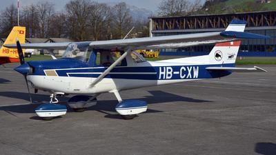A picture of HBCXW - Cessna F152 - [1499] - © Mirko Bleuer