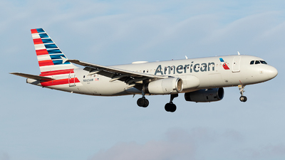 N663AW - Airbus A320-232 - American Airlines