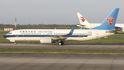 A picture of B1123 - Boeing 73781B - China Southern Airlines - © flying-designer