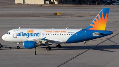 A picture of N329NV - Airbus A319111 - Allegiant Air - © Der Kölner