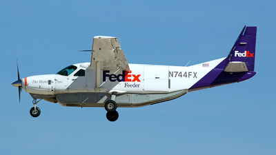 N744FX - Cessna 208B Super Cargomaster - FedEx Feeder (West Air)