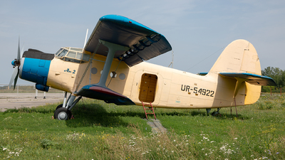 UR-54922 - PZL-Mielec An-2R - Private