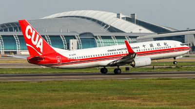 B-1276 - Boeing 737-89P - China United Airlines