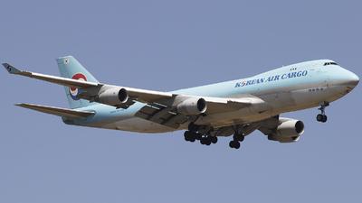 HL7605 - Boeing 747-4B5ERF - Korean Air Cargo