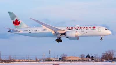 A picture of CGHQY - Boeing 7878 Dreamliner - Air Canada - © Kevin Sung