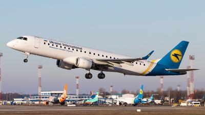 A picture of UREMC - Embraer E190LR - Ukraine Int. Airlines - © Oleksandr Smerychansky