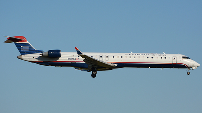 N917FJ - Bombardier CRJ-900ER - US Airways Express (Mesa Airlines)