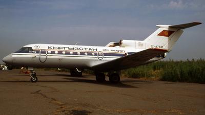 EX-87631 - Yakovlev Yak-40 - Kyrgyzstan Airlines