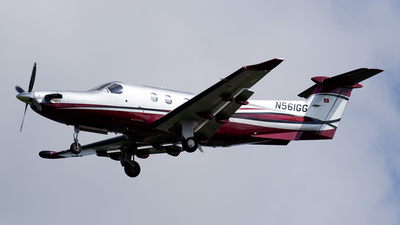 N561GG - Pilatus PC-12/47 - Private