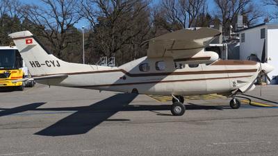 A picture of HBCYJ - Cessna P210R Pressurized Centurion II - [P21000836] - © Mirko Bleuer